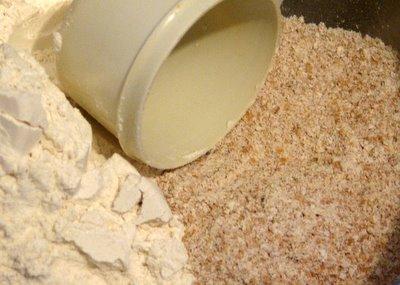 Pizza crust flour