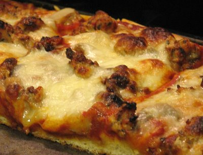 Sausage pizza day