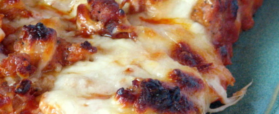 homemade pizza anytime meal